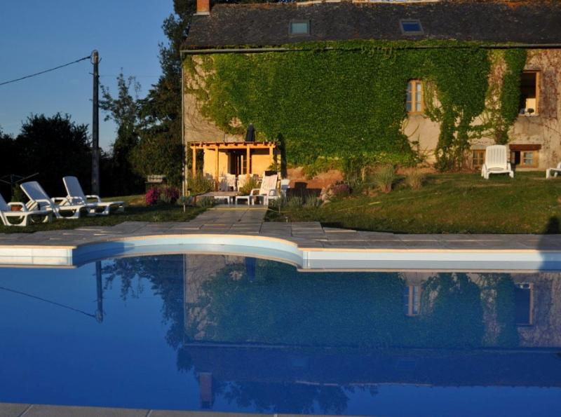 Maison Safran de Najac, Stone Farmhouse, pool and garden in a tranquil setting, vacation rental in La Fouillade