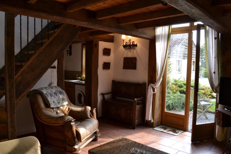 living room looking towards garden