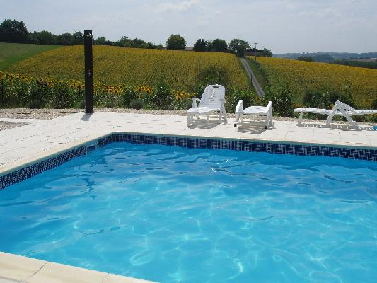 L'Hirondelle - 3 bedroom house, sleeps 6, holiday rental in Voeuil-et-Giget