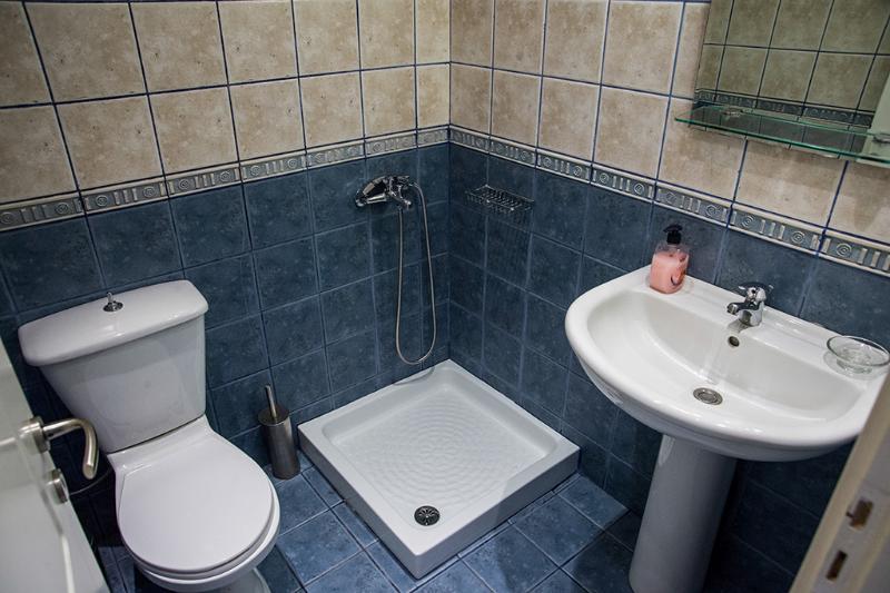 O duche/wc