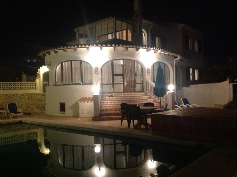 Villa @ night