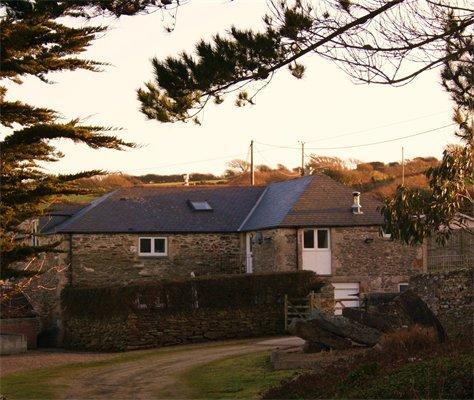 The Round Barn, located in a little hamlet of Penpol Farm, in Crantock.