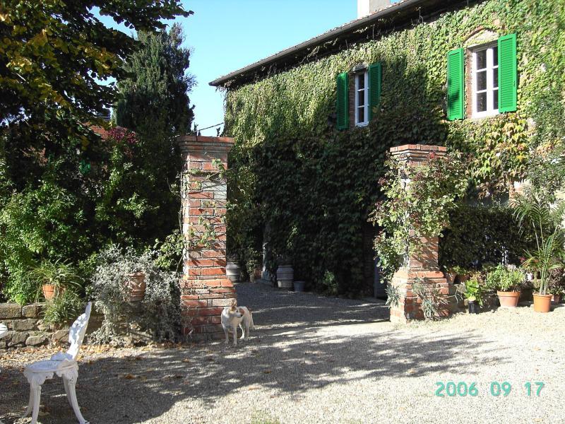 Villabugiana 1, una delle case a disposizione degli ospiti