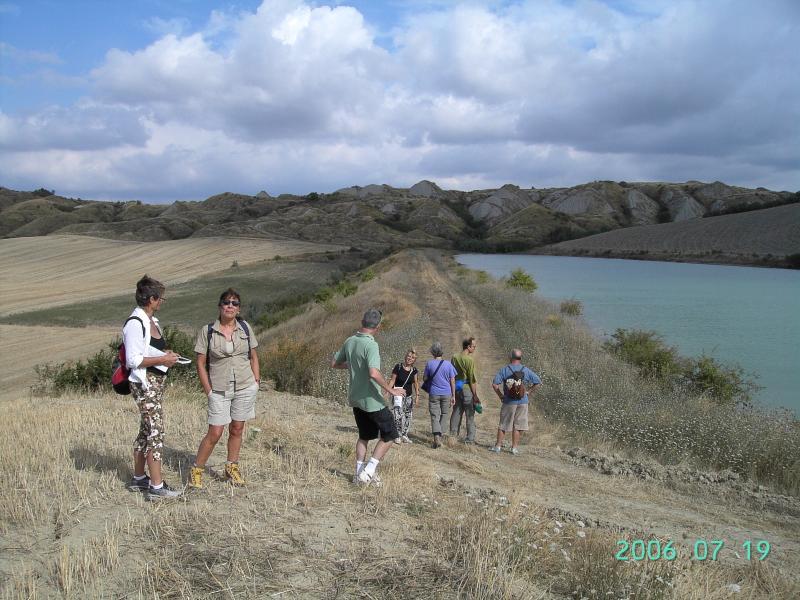 passeggiata nelle Crete senesi