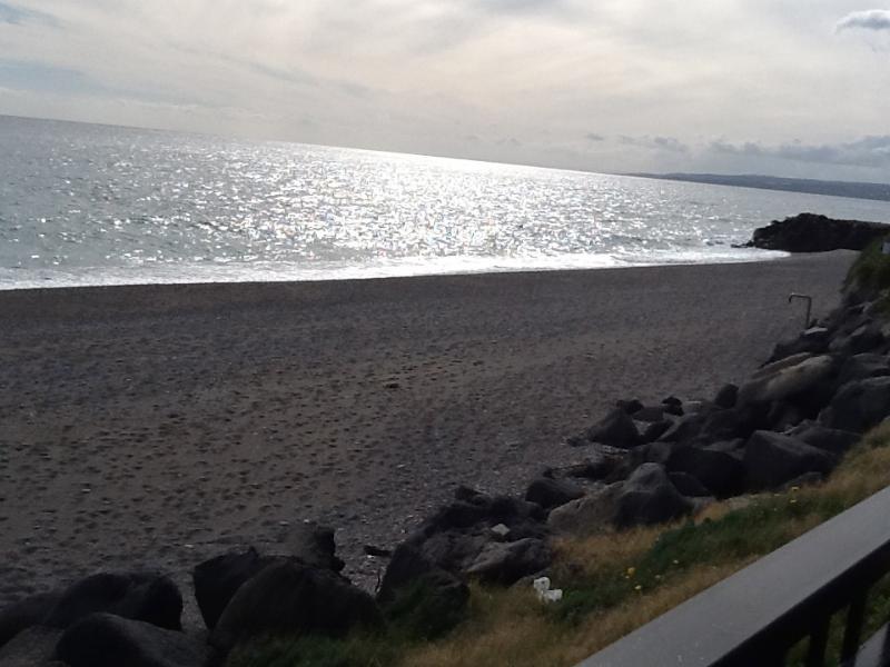 spiaggia in inverno