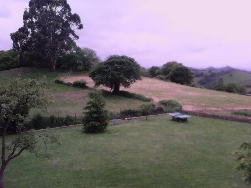 vistas al valle y a la montaña