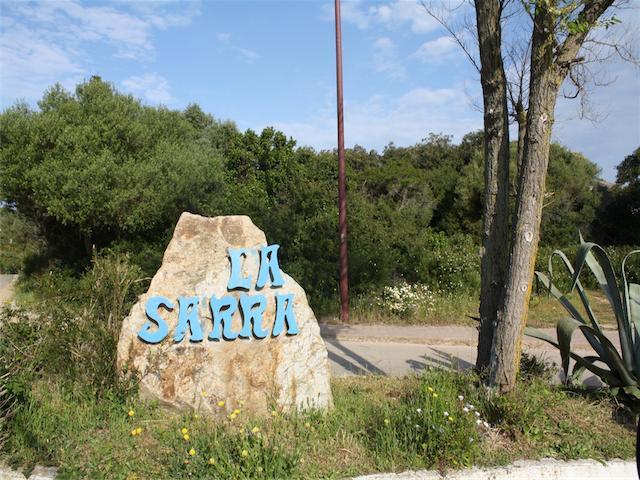 La Sarra Entrance