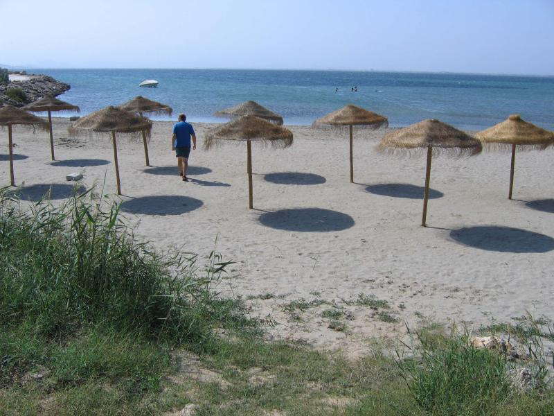 Mar Menor beach within few hundred meters