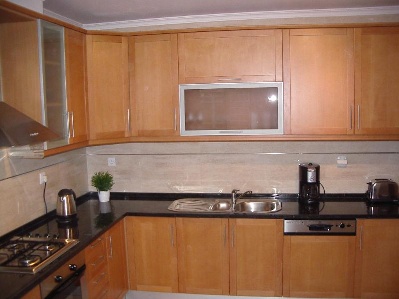 Large fully equipped modern kitchen