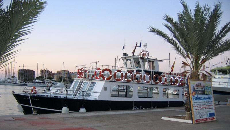 Take a boat trip across the Mar Menor
