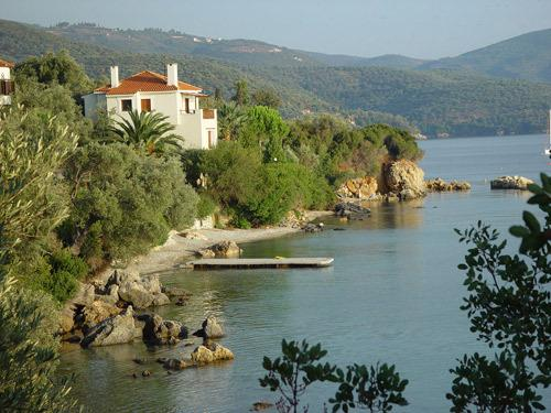 Villa  Elektra  Chorto  Pelion, holiday rental in Kalamos