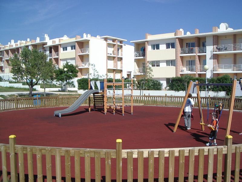 Park opposite apartment block