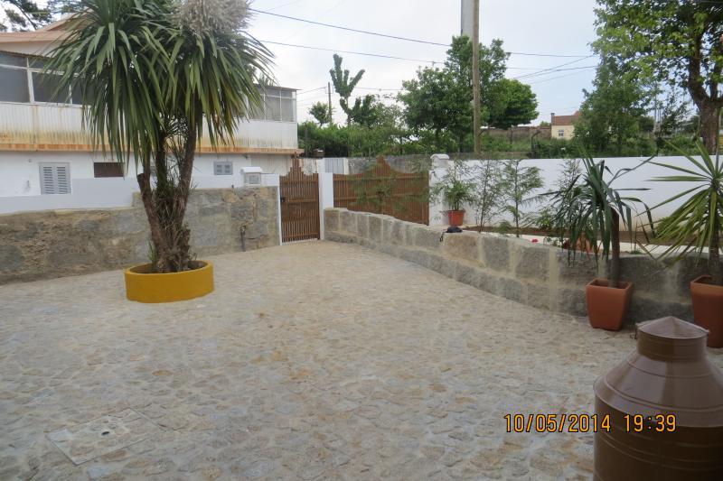 patio de entrada para a casa