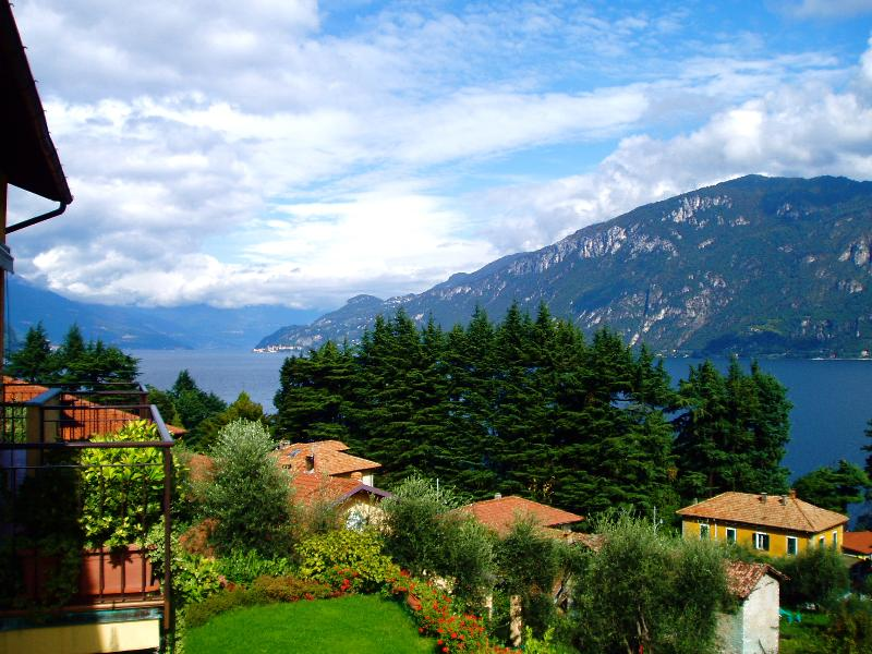 View from apartment towards Varenna