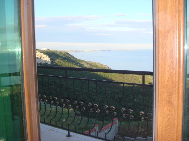 Views of coast line from villa