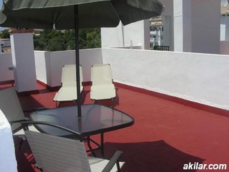 Private Roof Solarium on this Villamartin Apartment