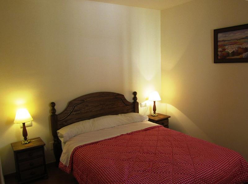 Double bedroom with built in wardrobe and en suite bathroom