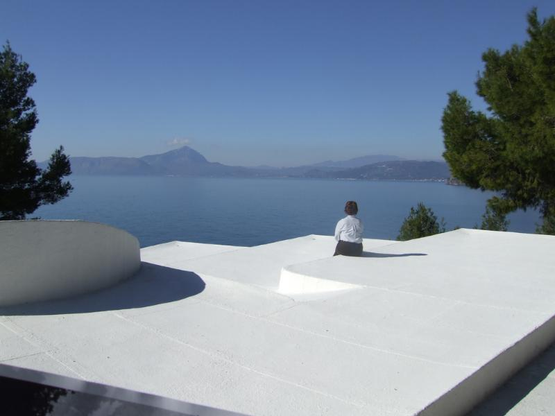 The view from the villa roof