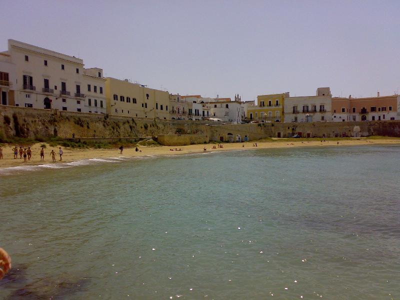 spiaggia della purità nel centro storico