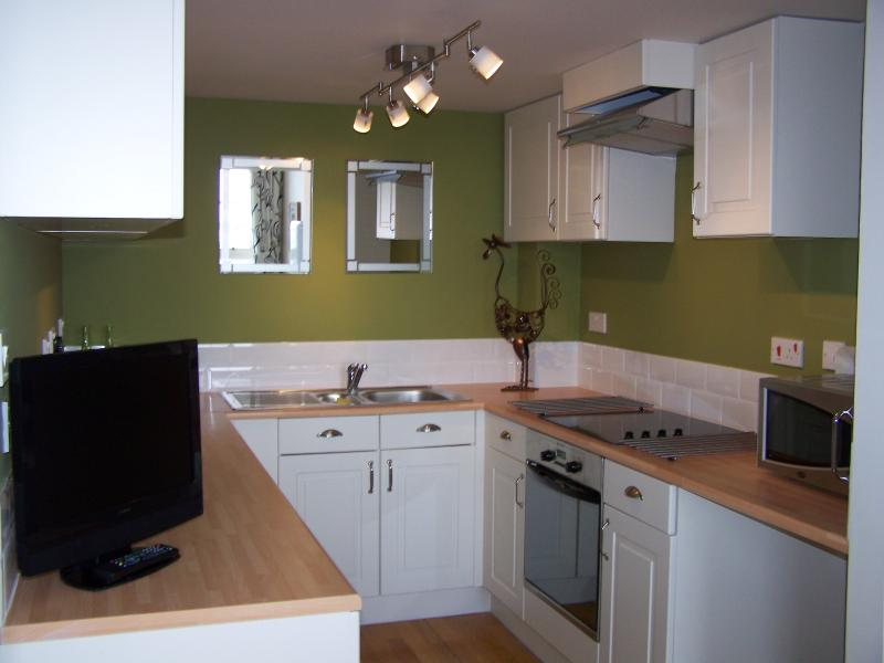 Kitchen Area in Kitchen Diner. fully equipped with all you will need for a pleasant relaxing stay.