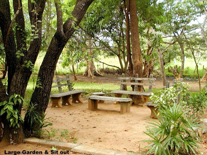 Garten Sit-out.
