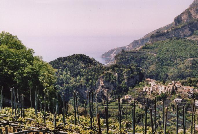 Panorama on Amalfi Coast