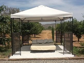 Gazebo by pool (summer only)
