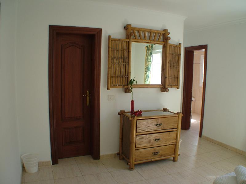 Entrance to master suite with en suite bath and dressing rooms