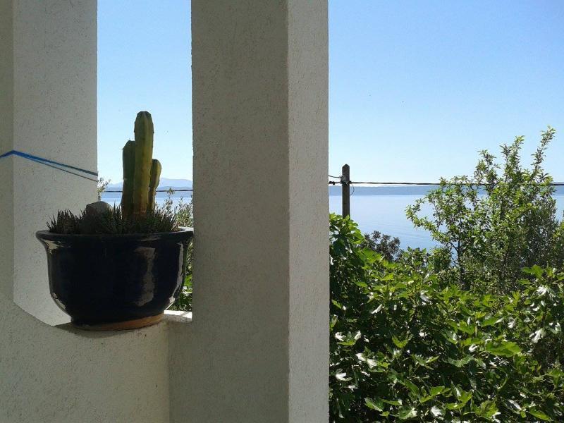 Podgora, Makarska riviera, apartment 3+2, sea view, alquiler de vacaciones en Podgora
