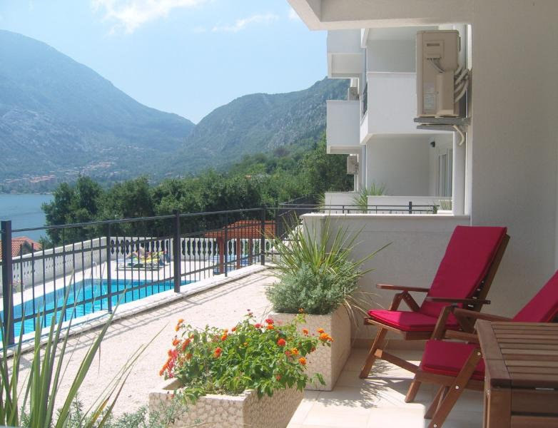 Kotor View Apt with Pool and Fantastic views