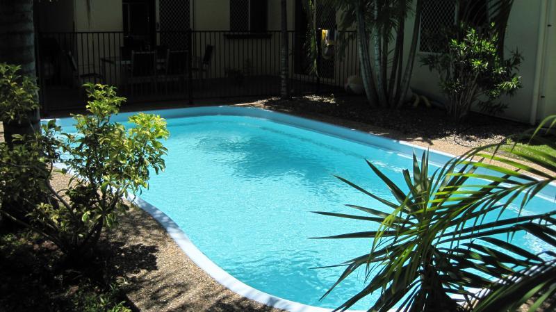 Inground saltwater pool