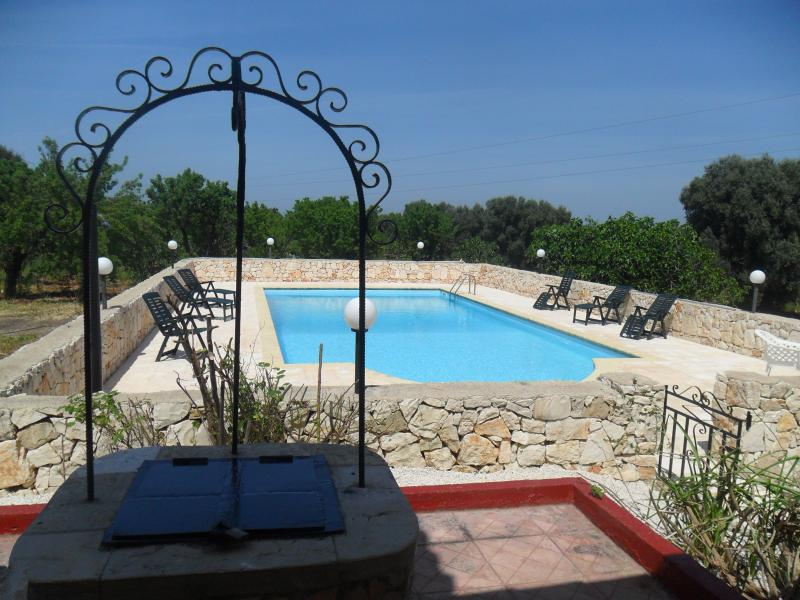 Villa Katia-Rosa, holiday rental in San Vito dei Normanni