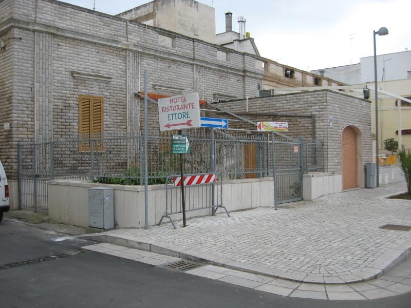 Foto della villa dalla strada