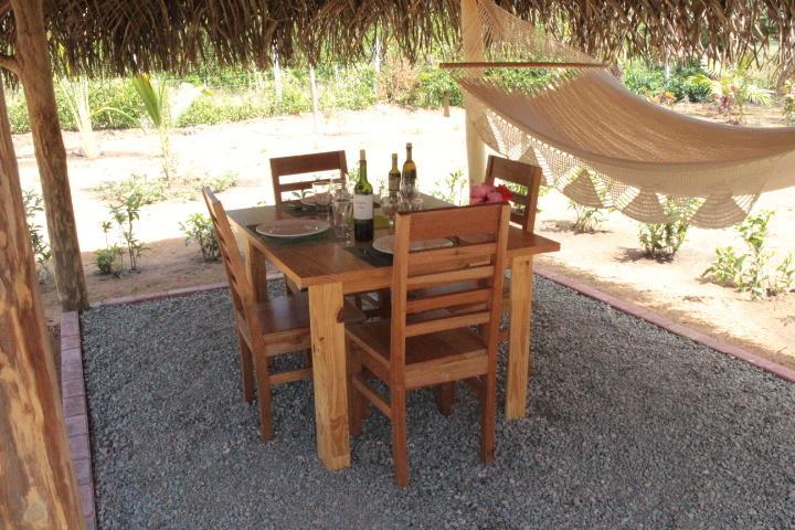 veranda with hammock