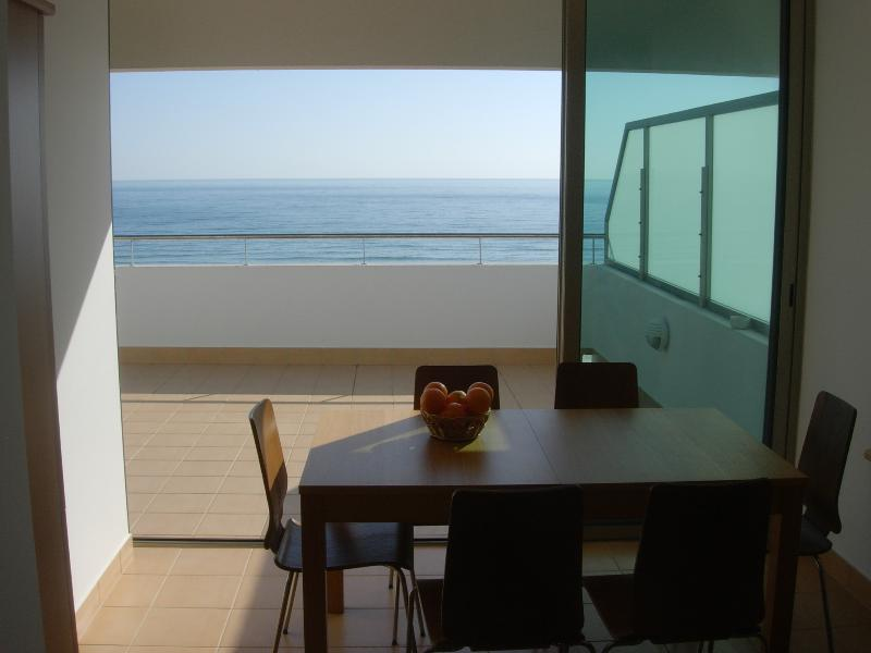Oceanview dining, indoors or al fresco