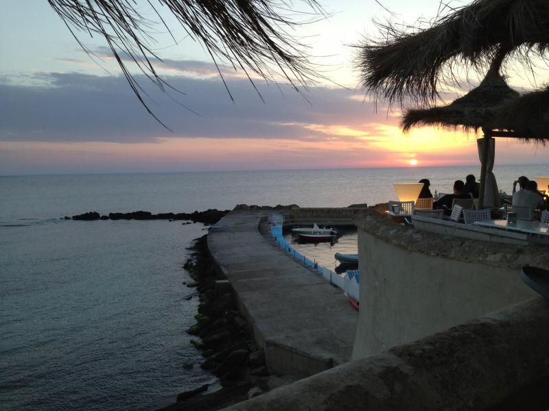 Sunset in Porto Cesareo (40 min from the property)