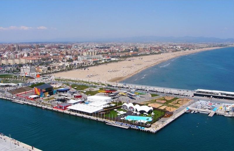 Puerto y playa