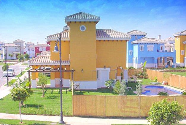 Villa Sunray Side View  Polaris World Mar Menor  BOOK NOW 2019