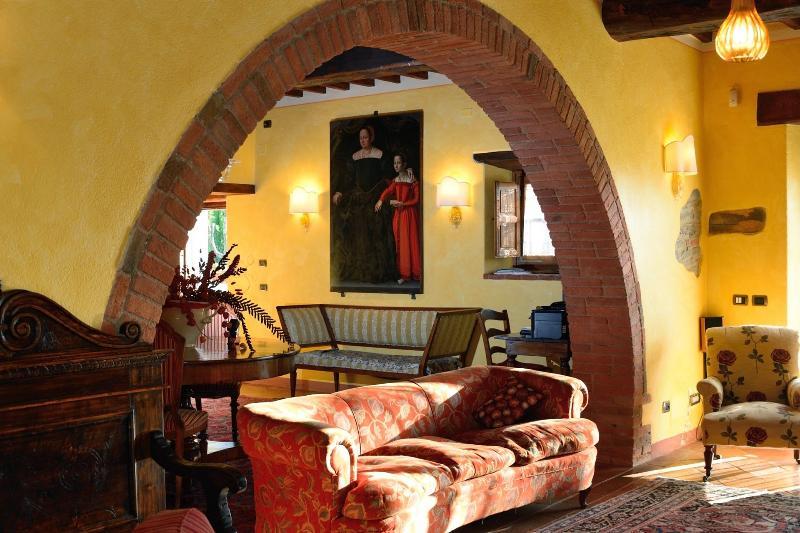Ein bestimmtes der Halle in der villa