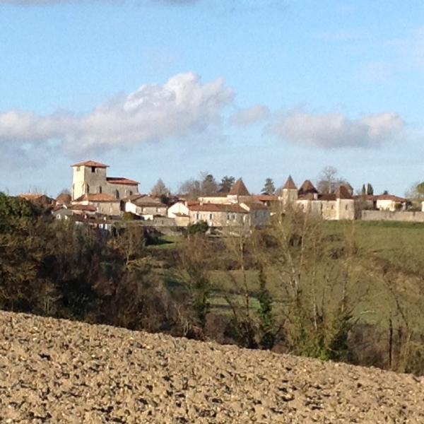 Lusignac village