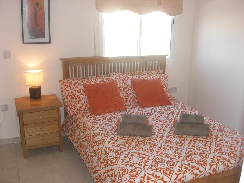 Air conditioned comfortable master bedroom