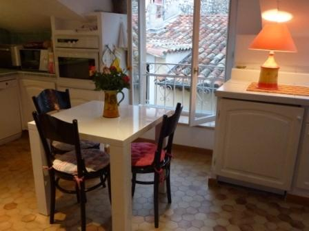 Vence Apartment dining