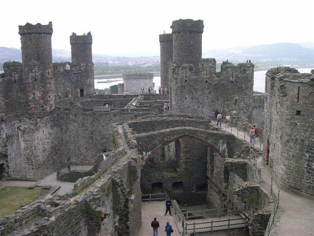 Conwy Castle part of the ring of fortresses that surround North wales