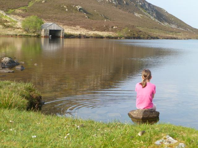 Cregennan Lake nearby