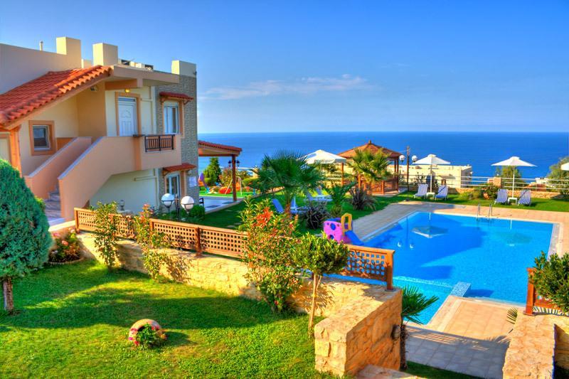 Rethymno private villa - Knossos Estate Resort- villa Ariadni, alquiler vacacional en Rethymnon