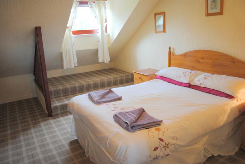 Comfortable, cosy bedroom at Coire Mhor