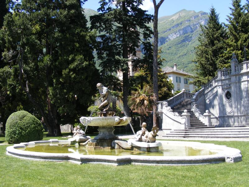Nearby park in Tremezzo