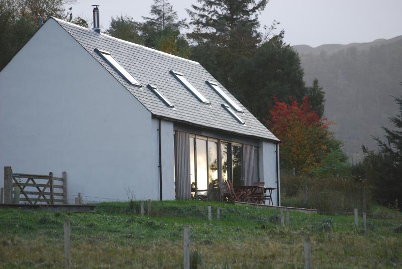 Lochside Lodge - autumn colours