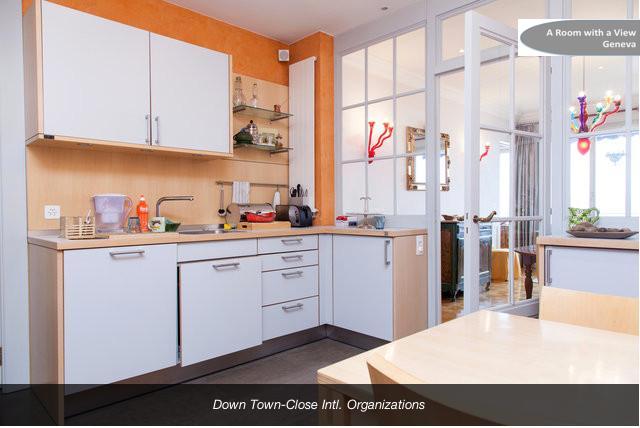 The modern spacious Kitchen