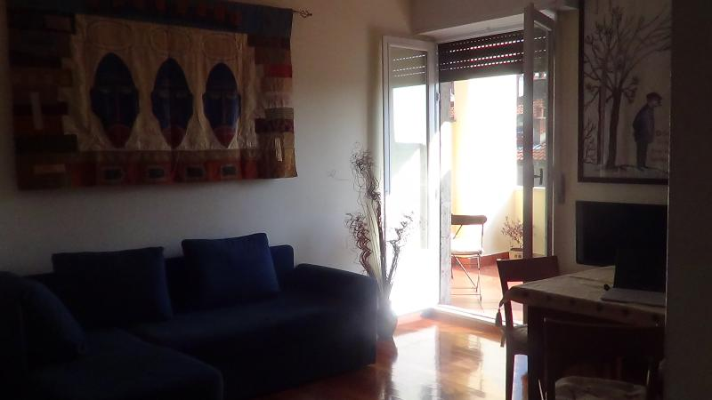 The Living room with access to the Terrace